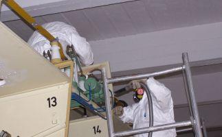 Asbestdemontagen Schaltanlage ENSO