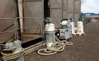 Brandschadensanierung Havarie ENSO Umspannstation Stahlwerk Riesa