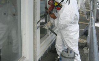 Demontage asbesthaltige Morinolfugen