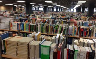 Sanierungsbereich Bücherreinigung