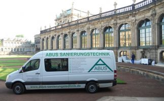 Schimmelbeseitigung Porzellansammlung Zwinger Dresden