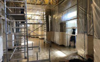 Semperoper Dresden: Schutz der wertvollen Bausubstanz durch staubdichte Abschottung