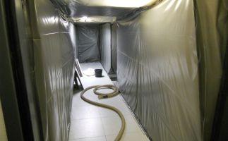 Tunnelzugang Sanierungsbereich