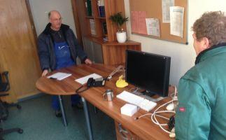 Vorbereitungsarbeiten, Beräumung Büromöbel